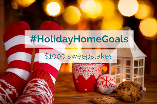 Sweepstakes: Enter to Win $1000 with Sindeo's #HolidayHomeGoals