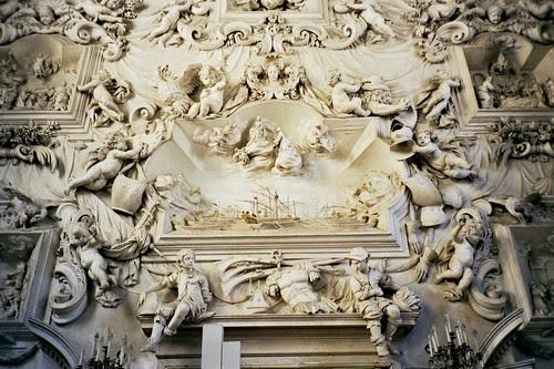 26.08.2000 - Palermo, oratorio di Santa Cita, stucchi di Serpotta