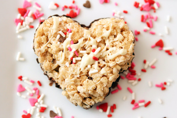 i heart you rice krispy treats - Table for Two® by Julie ...