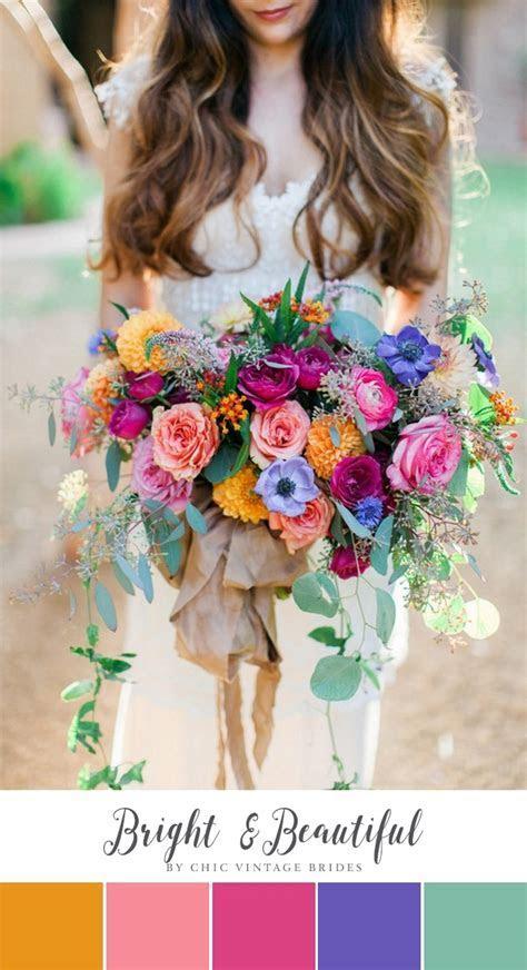 Bright & Beautiful Summer Wedding Colour Palette   Chic