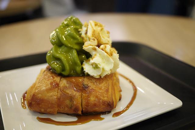 Dessert at Chanoma Cafe