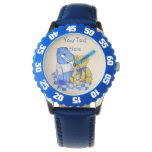 cute teddy bears on picnic cloth still life art wristwatches