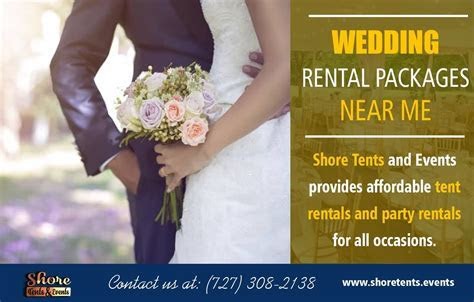 Wedding Rental Packages Near Clearwater & Tampa Florida