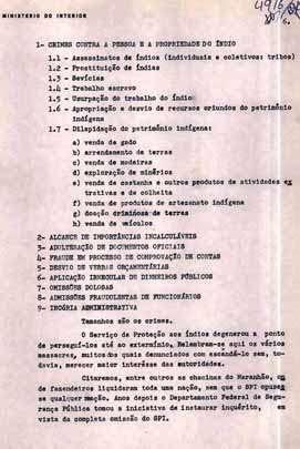 Documentos relatam massacres, torturas, invasões de terras e outras agressões ocorridas nos anos 1960 (Fotos: Marcelo Zelic/ Divulgação)