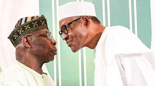 Image result for obasanjo and buhari