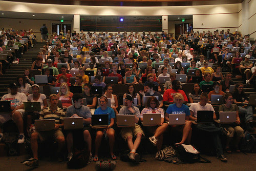 journalism students using macs apple by chris.corwin, on Flickr