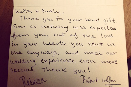 RGIII Sends Fan 'Thank You' Card