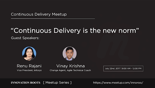 """Continuous Delivery is the new norm"", Continuous Delivery Meetup"