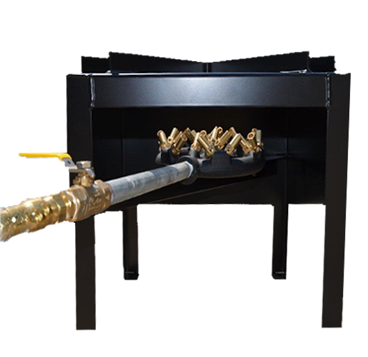 Bayou Boiler - The Original Multi-Jet Natural Gas Burner