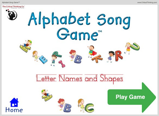 A Look at the Alphabet Song Game & a Critical Thinking Company Coupon! - Nerd Family