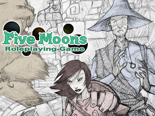 Five Moons RPG by Sean K Reynolds