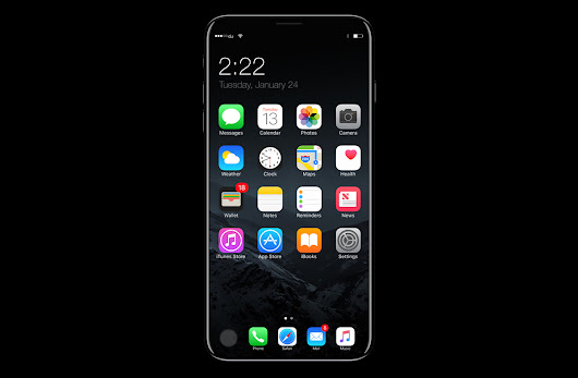 Supply chain suggests Apple's 'iPhone 8' will sport mildly curved Samsung OLED screen