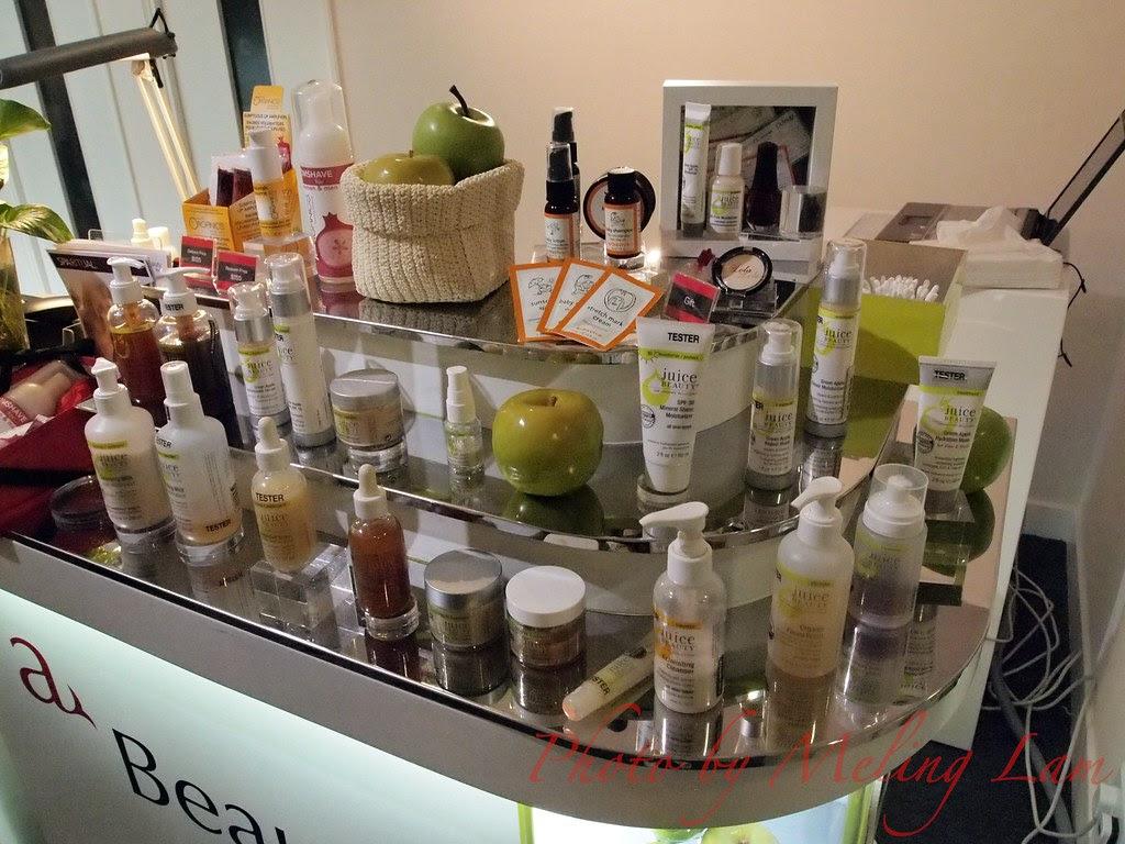 a beauty bar lola juice beauty juice organic duwop sparitual nail facial eyebrow 銅鑼灣