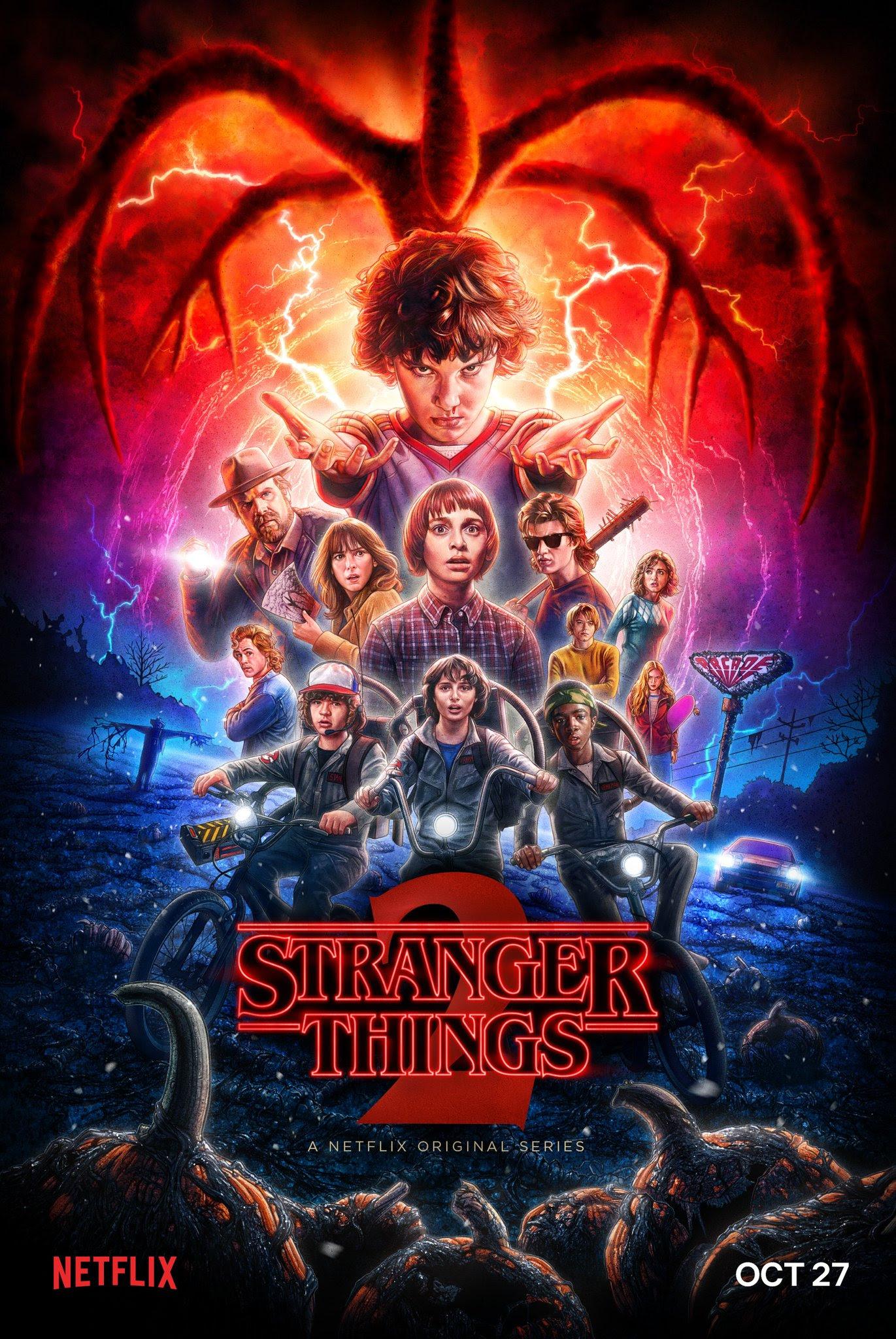 Resultado de imagem para Stranger Things season 2 posters