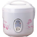 SPT - 4-Cup Rice Cooker - White