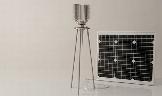 A solar-powered water maker that can run for decades