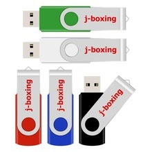 J-boxing Pen-drive Metal USB Flash Drive for Computer