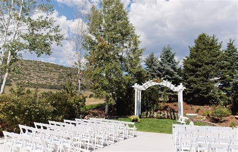 Colorado Outdoor Weddings