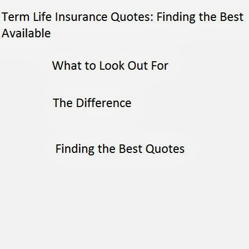 Term Life Quotes Photograph  Life Insurance Quotes : Find t