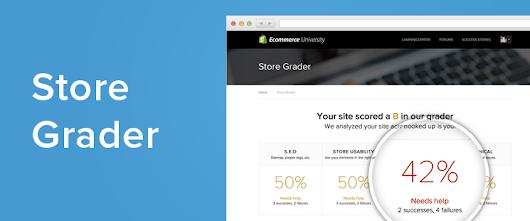 Introducing Store Grader: Instant Ecommerce Optimization Advice — Ecommerce Blog by Shopify