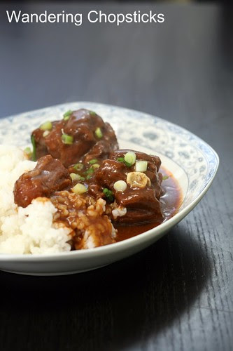 Chinese Braised Oxtails with 5-Spice and Hoisin Sauce 2