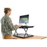 Uncaged Ergonomics CHANGEdesk Mini - Standing desk converter - rectangular - gray
