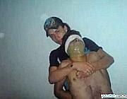 Una delle immagini diffuse sul Web dal Cartello dei narcos