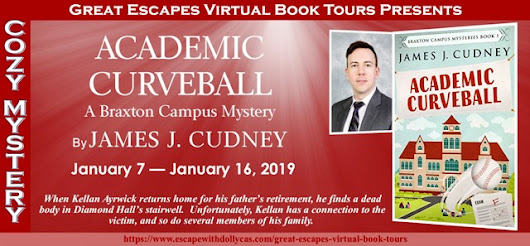 Academic Curveball by James J. Cudney - Spotlight + Giveaway - Brooke Blogs