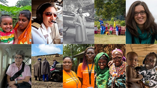 10 women we're inspired by this International Women's Day | Mission Aviation Fellowship