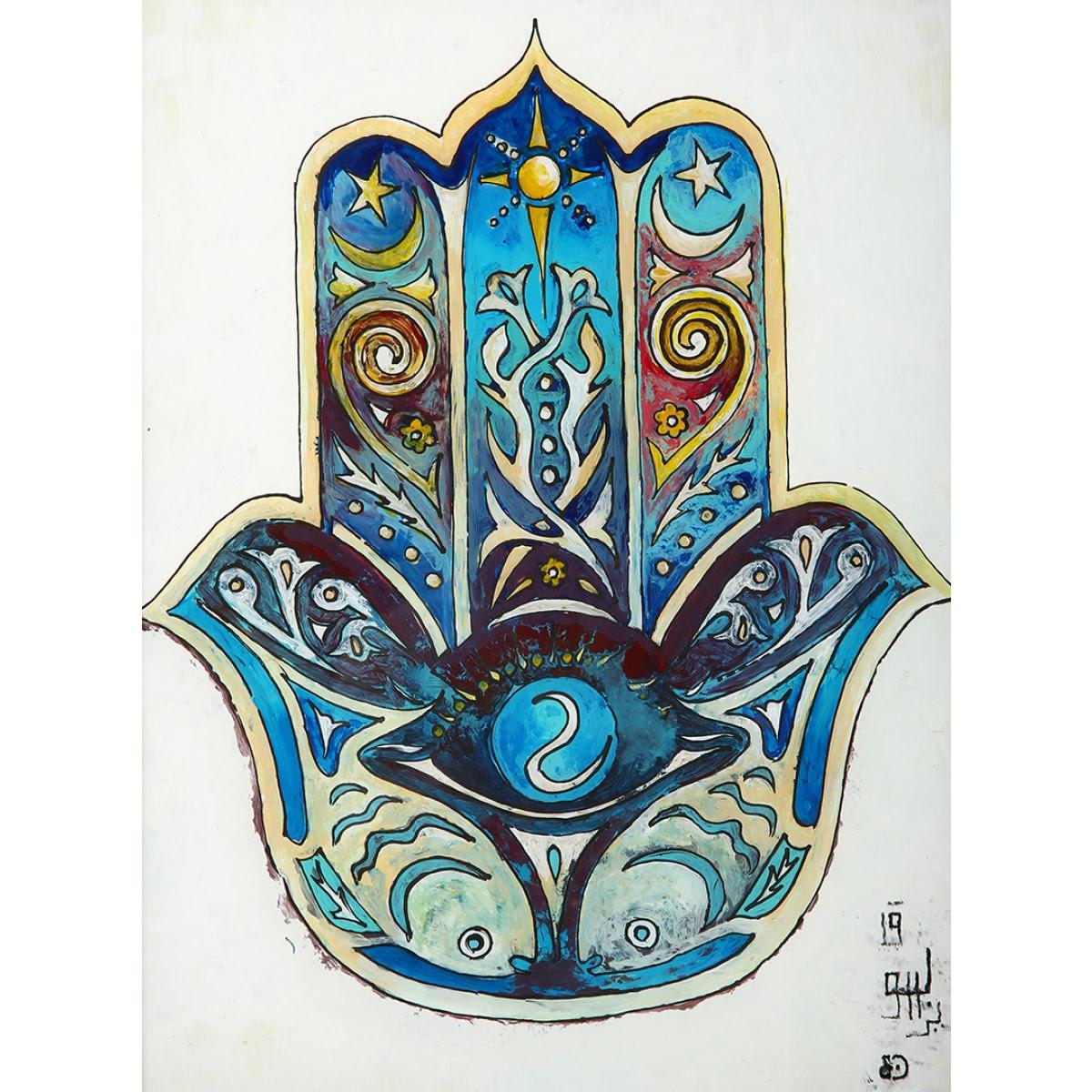 Cam Altı Boyama Osmanlı Türk El Sanatları Ark Of Crafts