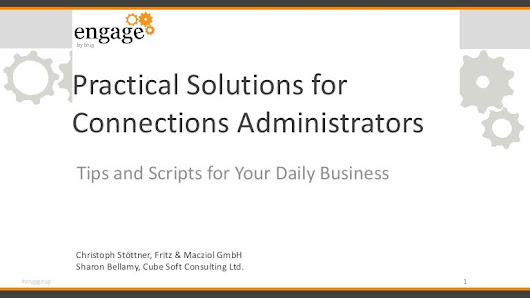 Practical solutions for connections administrators lite