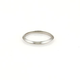 Tiffany & Co. Platinum 2mm Knife Edge Plain Wedding Band