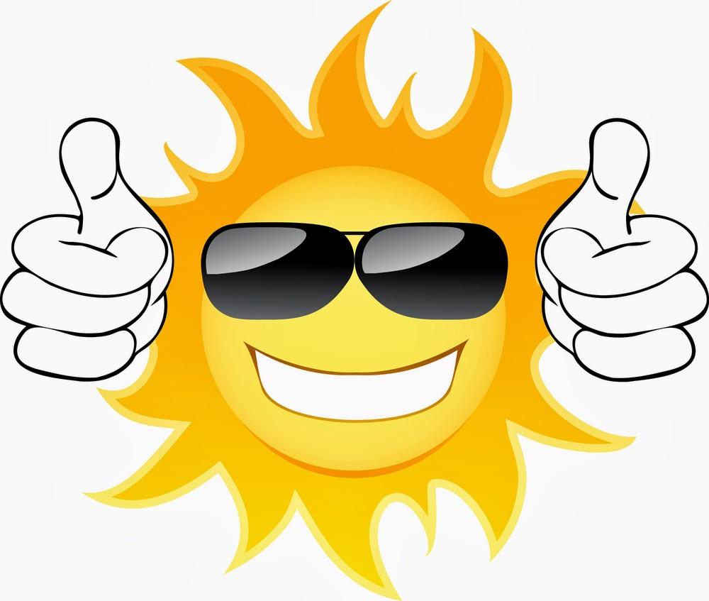 Sun Smiley Face Clipart