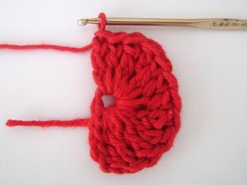 Como fazer um coração de crochê