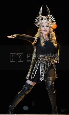 Madonna Givenchy Super Bowl Halftime Fashion Style