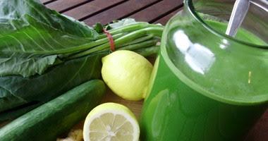 العصير الأخضر.. يعالج الغدة الدرقية ويقلل الوزن