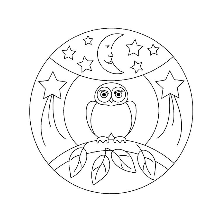 Coloriage Mandala Halloween Az Coloriage