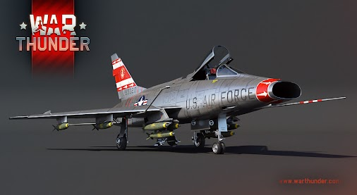 Welcome the American F-100D #SuperSabre supersonic turbo-jet fighter developed for assault and bombing...
