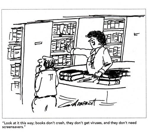 books library humor cartoon cartoons classic libraries years american magazine called extended today huddleston brian give signs bookbub nothing