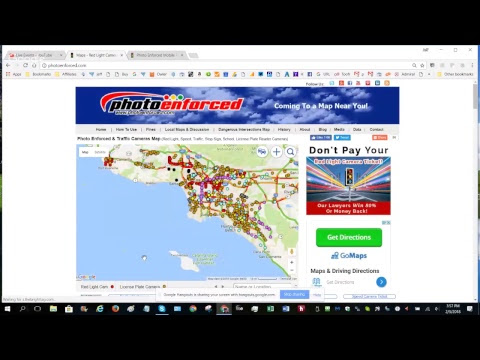 Video on How to Use PhotoEnforced.com Map & Database