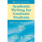 Academic Writing for Graduate Students: Essential Tasks and Skills [Book]