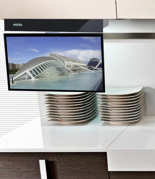 Under Cabinet 17 inch SMART TV, a Business Crowdfunding ...