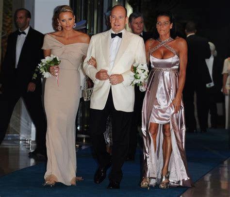 Princess Stephanie Evening Dress   royalty   Princess