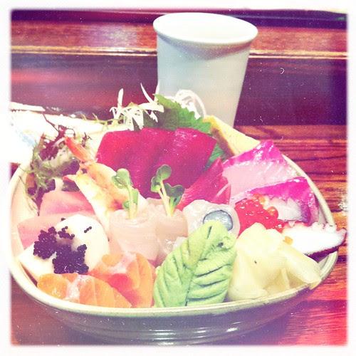 Chirachi Bowl at Village Sushi