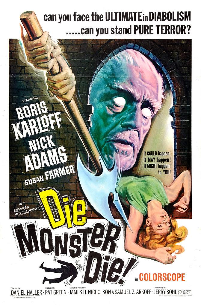 Reynold Brown - Die Monster Die! (American International, 1965)