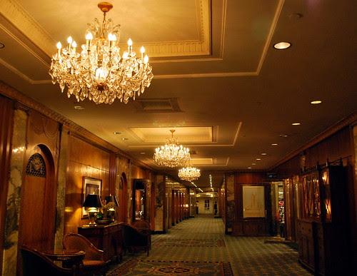 Waldorf Astoria Hallway