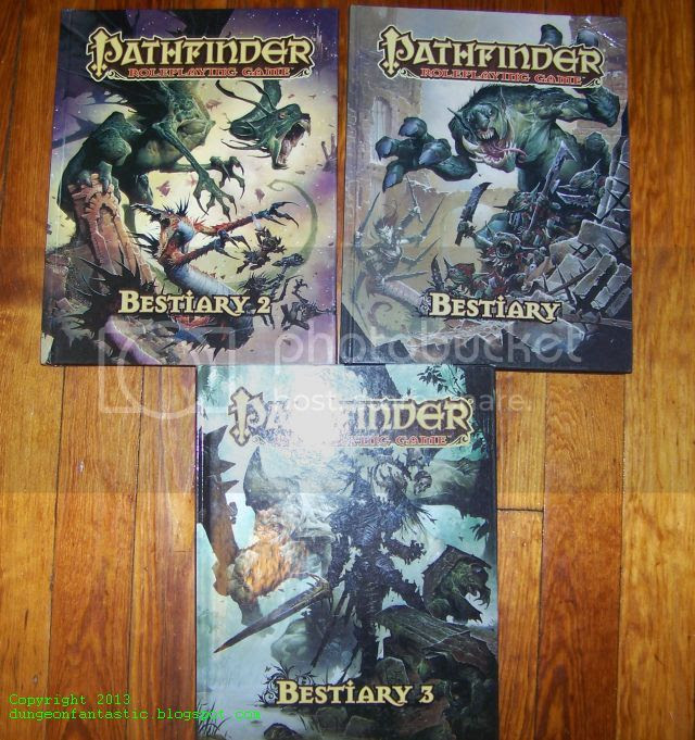 Pathfinder Bestiaries