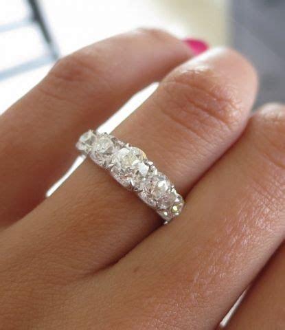 Show us your David Klass bling!   3, 5, & 7 stone rings