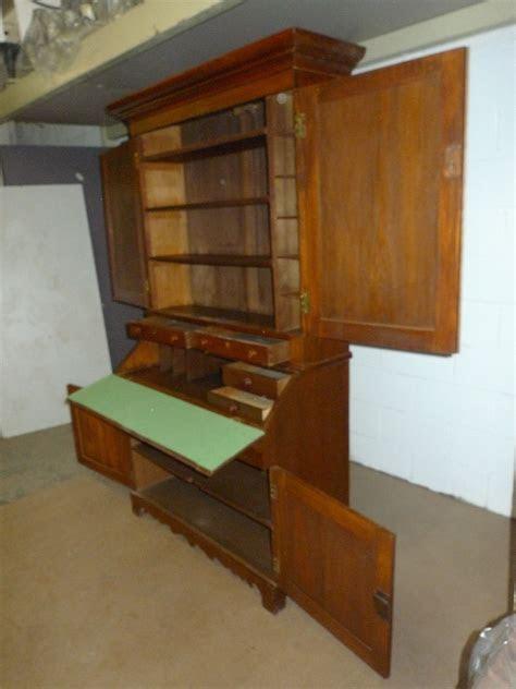 american mission roycroft chestnut secretary bookcase