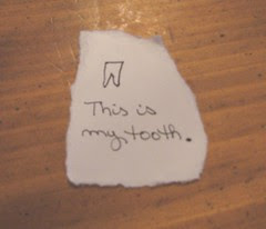 My tooth picture